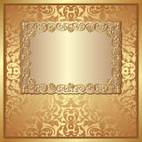 Golden background Royalty Free Stock Image