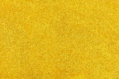 Golden background with glitter Royalty Free Stock Images