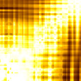 Golden background of glossy squares Stock Images
