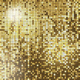 Golden background. Of sparkling sequins Royalty Free Stock Images