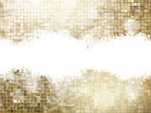 Golden background of sparkling sequins. EPS 10 Stock Photography