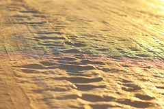Golden background uneven pits royalty free stock photo
