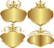 Golden backgrounds Royalty Free Stock Image
