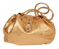 Golden bag Royalty Free Stock Photos