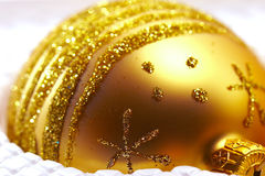 Golden ball Royalty Free Stock Photos