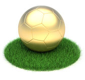 Golden ball Royalty Free Stock Images