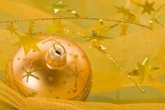 Golden ball Stock Photography