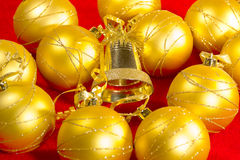 Golden ball Stock Images