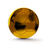 Golden ball Stock Photography
