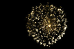 Free Golden Ball Of Fireworks Stock Photos - 41664053