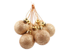 Golden balls Royalty Free Stock Image