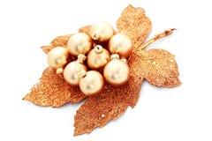Golden balls Royalty Free Stock Photography