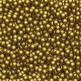Golden balls background. Vector realistic golden ball texture. Golden balls background. Vector realistic golden ball texture Stock Photo