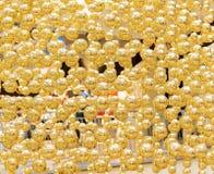 Golden balls at Christmas Royalty Free Stock Photos