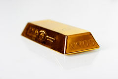 Golden bar Royalty Free Stock Image