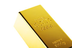 Golden bar Royalty Free Stock Photography