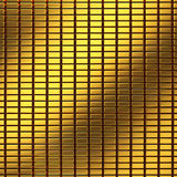 Golden bar pattern. With gradient reflect Stock Photos