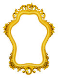 Golden baroque Frame Royalty Free Stock Image