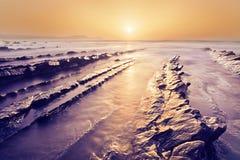 Golden Barrika beach Royalty Free Stock Image