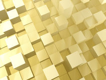 Golden bars Royalty Free Stock Photography