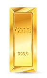 Golden bars Royalty Free Stock Images
