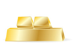 Golden bars Royalty Free Stock Image