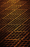 Golden bars structure Royalty Free Stock Photography