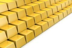 Golden bars Stock Photo