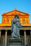 Golden Basilica Stock Images