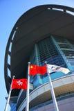 Hong Kong Bauhinia Square Stock Photography