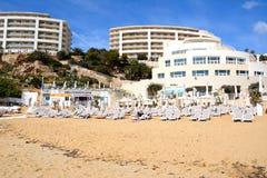 Golden Bay beach, Malta. Royalty Free Stock Image