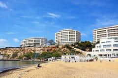 Golden Bay beach, Malta. Stock Photography