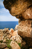 Golden Bay in Malta Royalty Free Stock Images