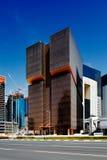 The Golden Bay Tower, Doha, Qatar Royalty Free Stock Photos