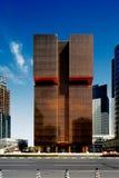 The Golden Bay Tower, Doha, Qatar Stock Photos