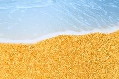 Golden Beach Stock Images