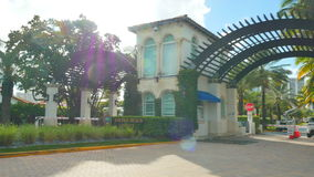 Golden Beach FL. Stock video of Golden Beach FL a city north of Miami and Sunny Isles stock video