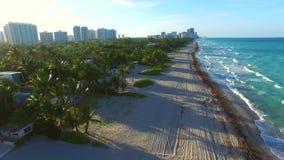 Golden Beach Florida aerial footage 5. Aerial video of Golden Beach Florida stock video footage