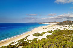 Golden Beach, Karpas Peninsula, North Cyprus Stock Photography