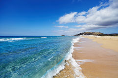 Golden Beach, Karpas Peninsula, North Cyprus Royalty Free Stock Images