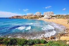 Golden Beach, Malta Royalty Free Stock Photo