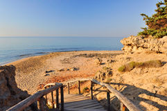 Golden beach in Salento Stock Images