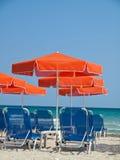 Golden beach, Thasos. This photo was made on Golden beach in Thasos, Greece Stock Photo