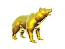 golden bear royalty ilustracja