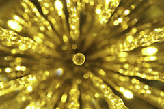 Golden beautiful abstract bokeh background royalty free stock images