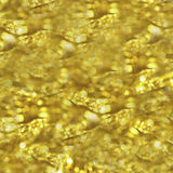 Golden beautiful abstract bokeh background Royalty Free Stock Image