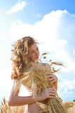 Golden Beauty Stock Image