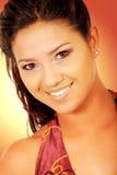 Golden beauty portrait Royalty Free Stock Photography