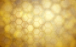 Golden beehive background. Blurred golden beehive background for design uses stock illustration