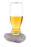 Golden beer Stock Image